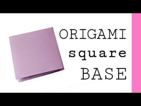 Origami Square Base/Preliminary Base