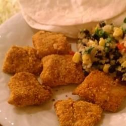 Oven-Fried Catfish - This is, quite possibly, the best recipe I've ever made. It is so good. Plus it's tastier and healthier than any catfish you get at a restaurant. No need for a deep fryer and it's a no-mess recipe as well. It's wonderful.