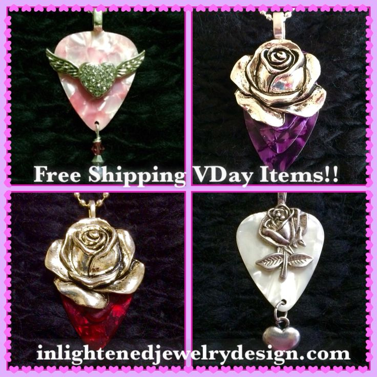 48 best Flower Nature Guitar Pick Jewelry images on ...
