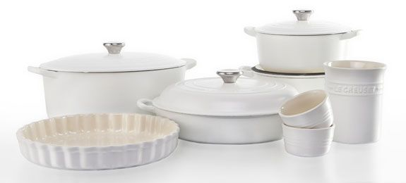 Beautiful new range from Le Creuset - #Cotton Cookware and Stoneware. Style and quality