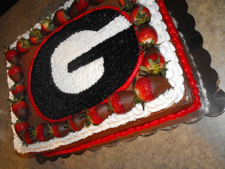 Cake Art Ga : 27 best images about Grooms cake on Pinterest University ...
