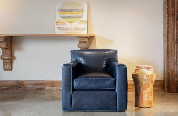Relax in our Burke Swivel Glider http://www.augusthaven.com/shop/burke-swivel-chair/