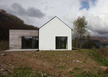 The White Larch Cladding And Simple Lines On Pinterest
