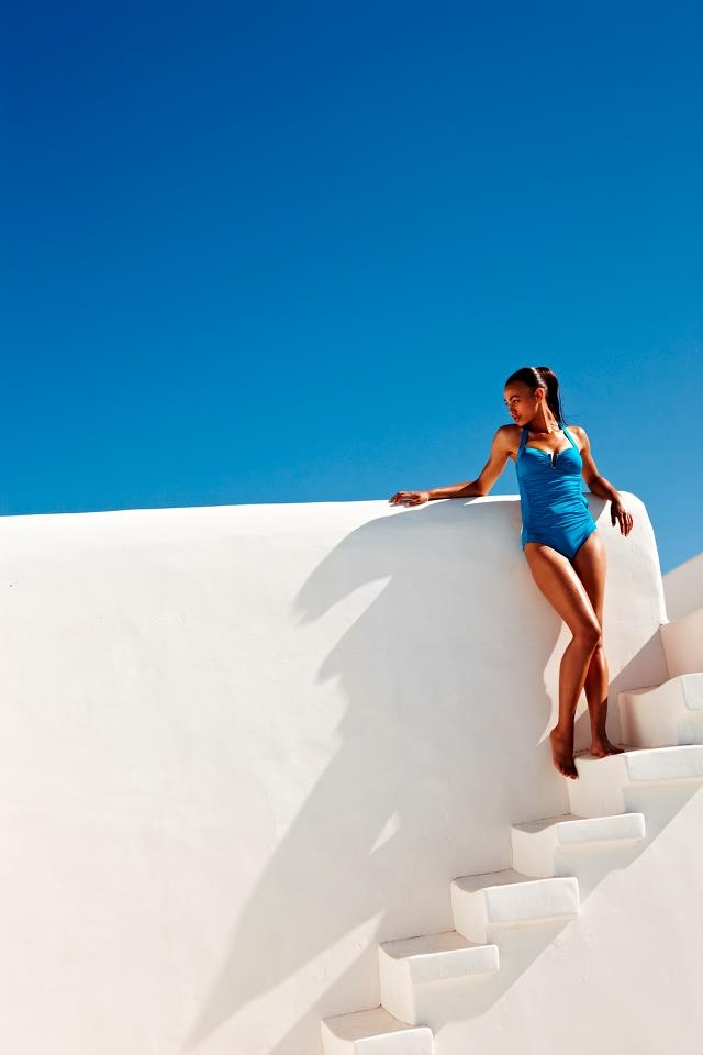 Photo shoot in luxury villa Aesara in Mykonos, Greece