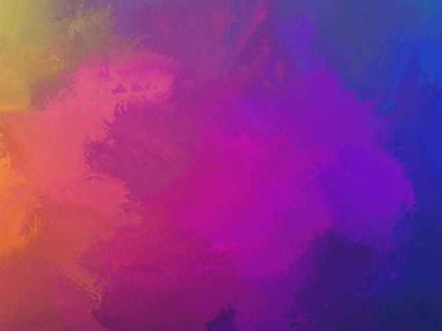 Colorful Abstract Colors Blue Purple Yellow 4k Artistic