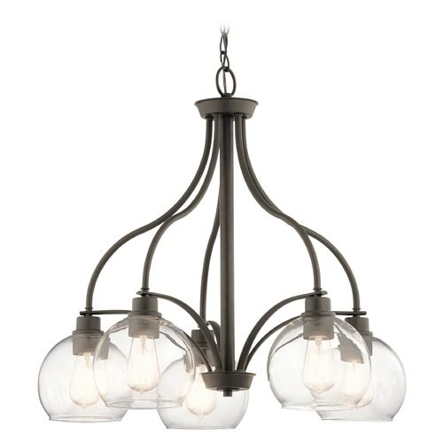 Transitional Chandelier Olde Bronze Harmony by Kichler Lighting | 44064OZ | Destination Lighting