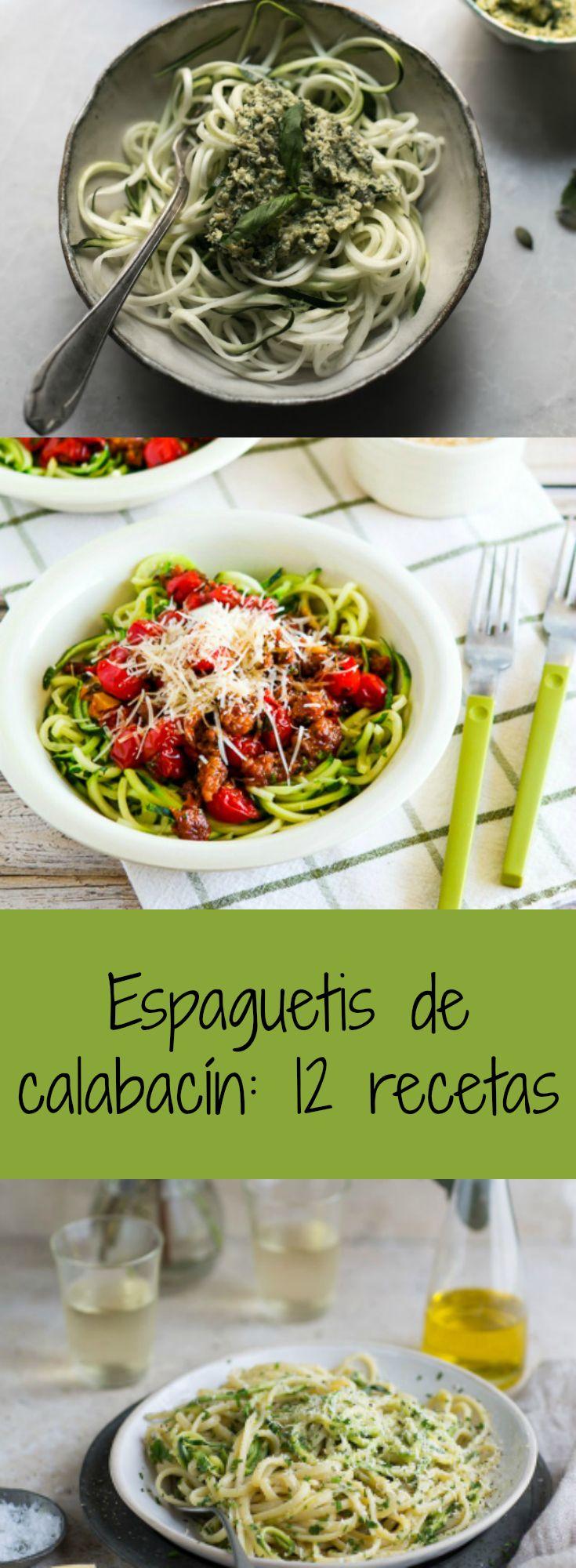 12 maneras de preparar los espaguetis de calabacín, muy fáciles y sanas | Tasty Details
