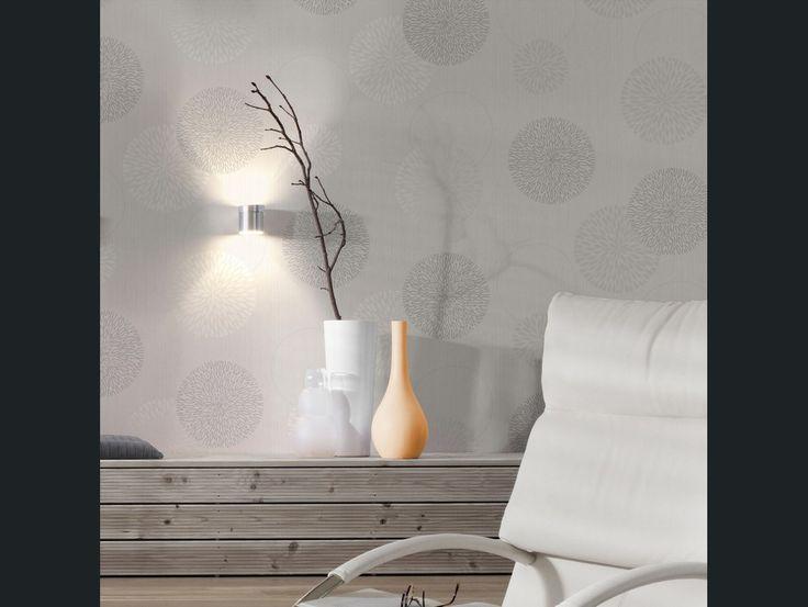 Papier peint vinyle expans sur intiss spot bulles gris for Papier peint vinyle intisse cuisine