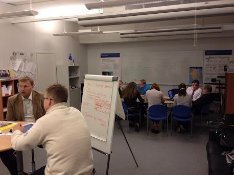 Working meeting in Kouvola 5.6.2012