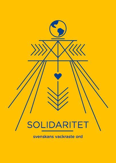 """Solidaritet"" by Elin Sandström. Available at: http://www.arrivals.se/product/solidaritet-återvinnsverige #art #arrivals #affordable #affordableart #återvinnsverige #solidarity"