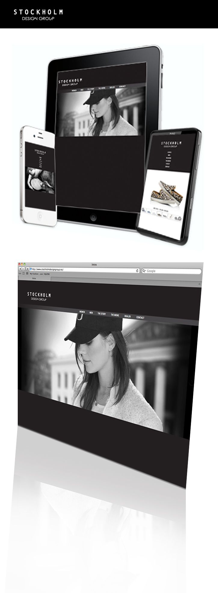 Webdesign  > www.stockholmdesigngroup.no