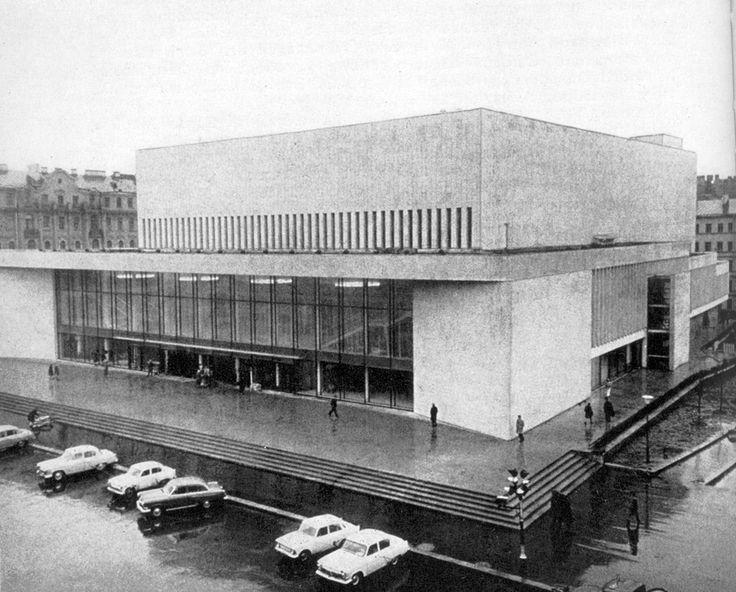 Большой концертный зал «Октябрьский» Санкт-Петербург, Россия 1967