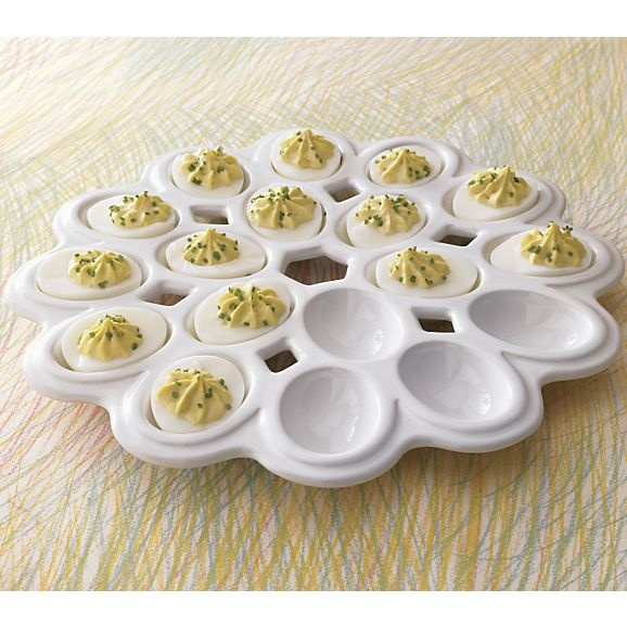 Egg Platter in Specialty Serveware | Crate and Barrel