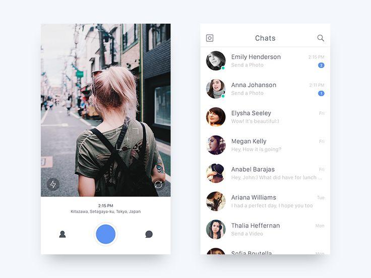 Social App - UI Concept by Jae-seong, Jeong