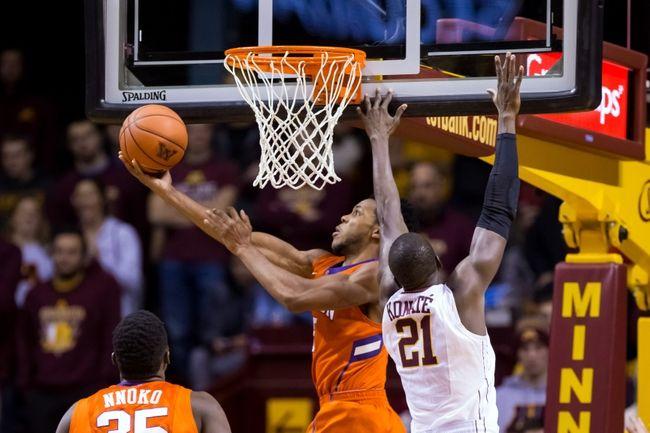 Clemson vs. Alabama - 12/13/15 College Basketball Pick, Odds, and Prediction