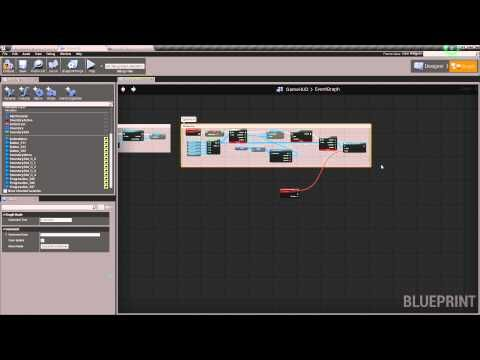 UMG Inventory in UE4 – Part 5 – Scripting the Pickup Text and Inventory Menu