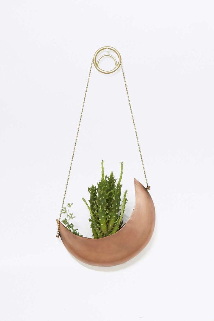 Hanging Half Moon Planter