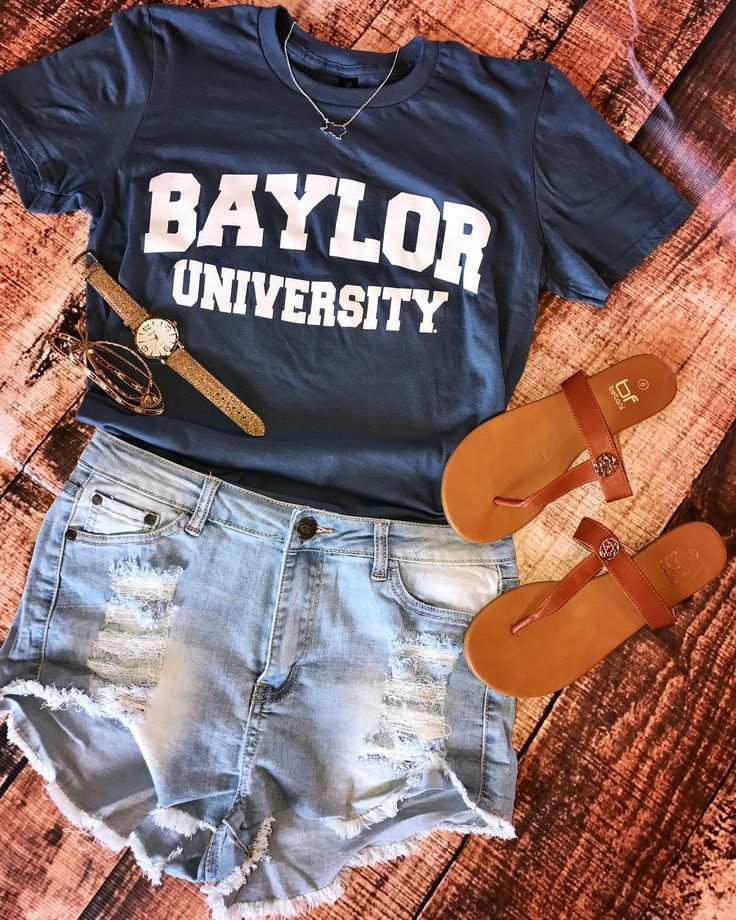 Baylor OOTD from Barefoot Waco