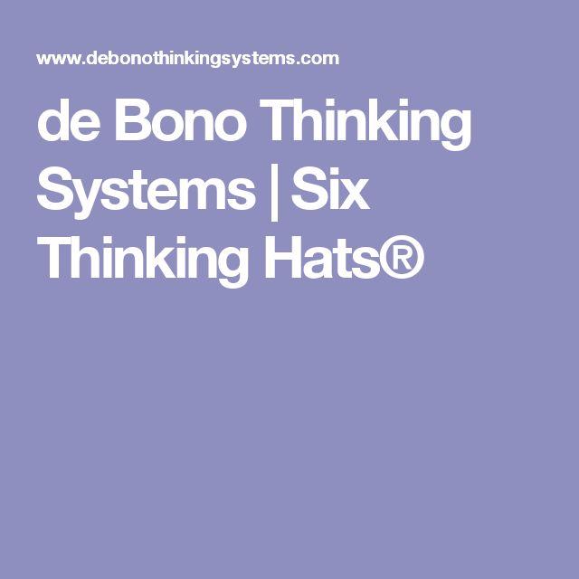 de bono thinking systems six thinking hats - 640×640