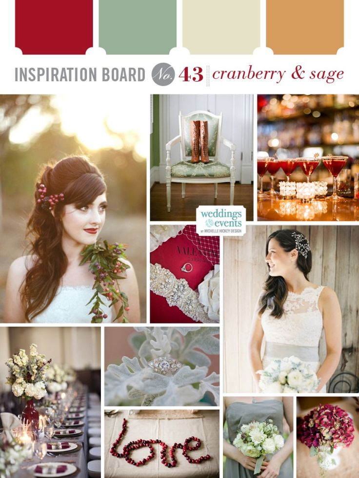 Inspiration Board 43 Cranberry Amp Sage Michelle Hickey