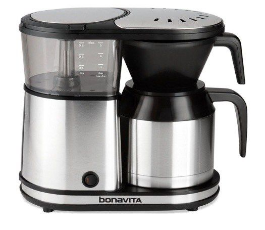 Cafetera de goteo Bonavita BV1500TS-CEV – Opinión. Cafetera muy sencilla de utilizar, y con el café correcto, nos proporciona unas tazas de café muy conseguidas. Vamos a ver el vídeo que hemo…