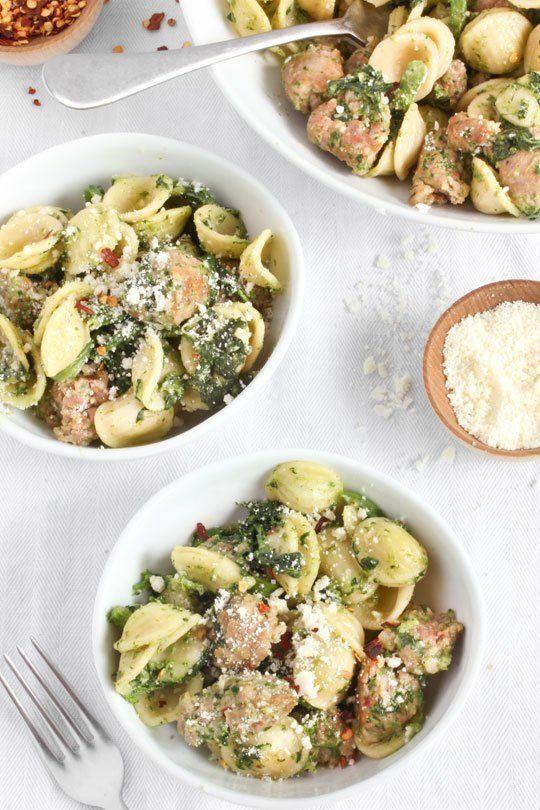 Recipe: Orecchiette with Broccoli Rabe & Sausage — Barilla Collezione | The Kitchn