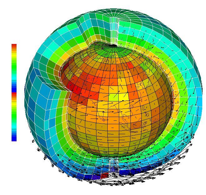 Земля, прогноз, модель, метеорология