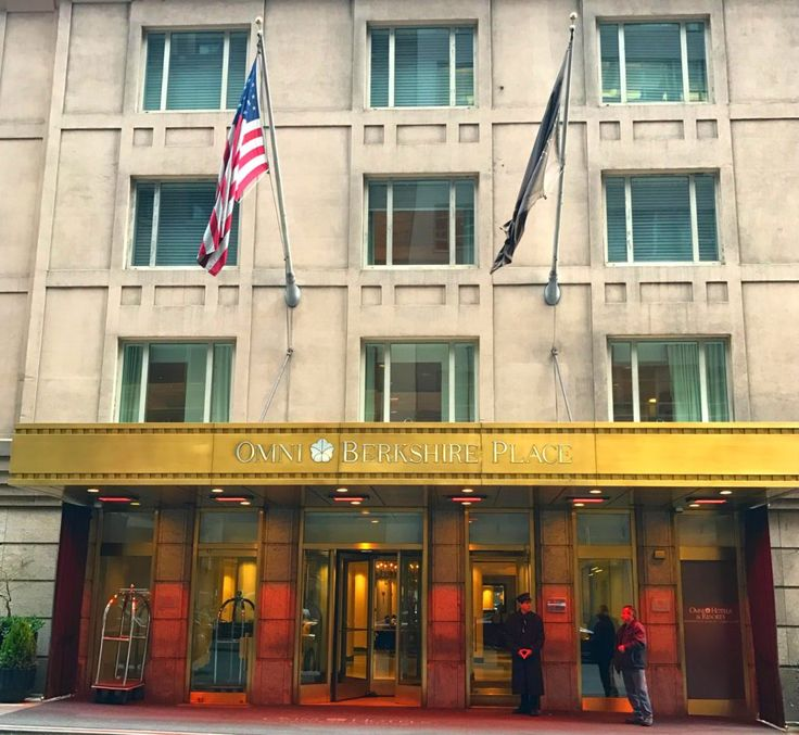 Omni Berkshire Place Hotel, New York Hotels, Omni Hotels, Hotels near Rockefeller Center