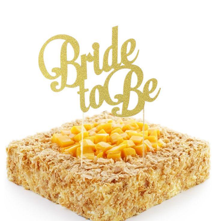 Эй забавная Курица Ночь девичник To be Bride украшения торта Топпер свадебный душ дополнения Аксессуары золотой блеск Бумага купить на AliExpress
