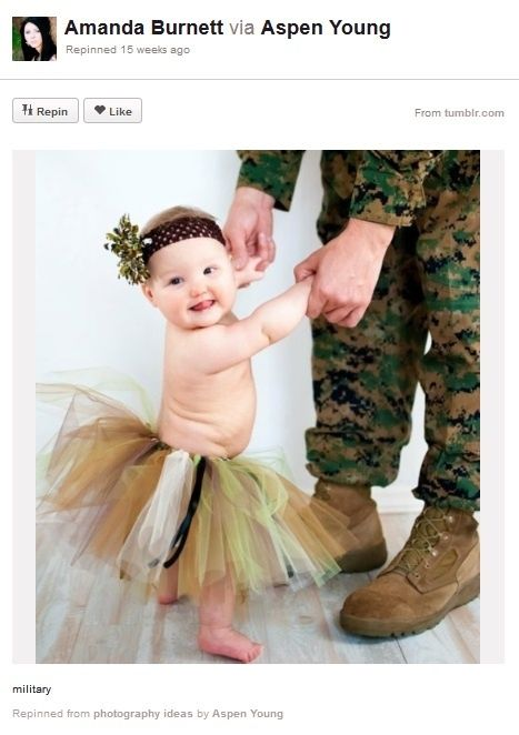 Baby Photography Ideas Soldier Dancing with Baby