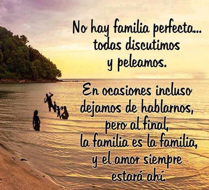 Sip, y gracias a Dios my familia es muy unida.