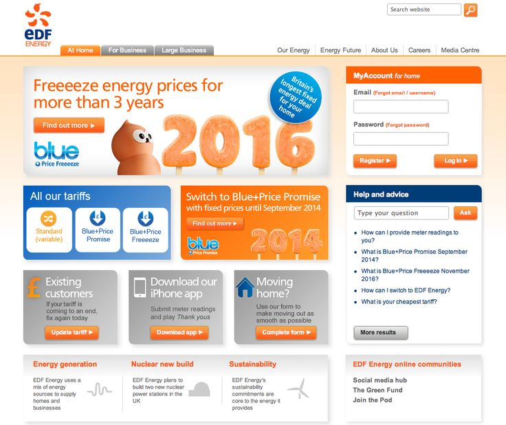Edf Energy Compare Our Electricity Tariffs Online | Autos Post