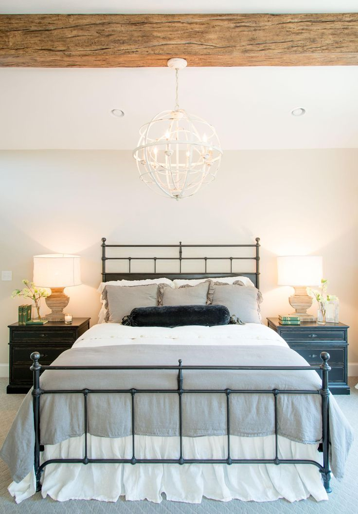 Fixer Upper Season 4 | Chip and Joanna Gaines | Episode 01 | The Cargo Ship House | Bedroom | Statement Lighting