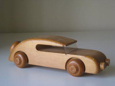 Kay Bojesen Denmark Wooden Toy Car