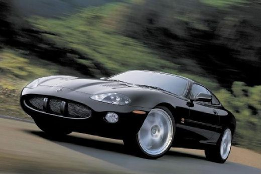 This was my very favorite car pic for several years!  JAGUAR XK8 Coupe (2004-2005)