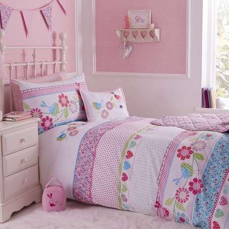 Songbird Cot Bed Duvet Cover Set | Dunelm