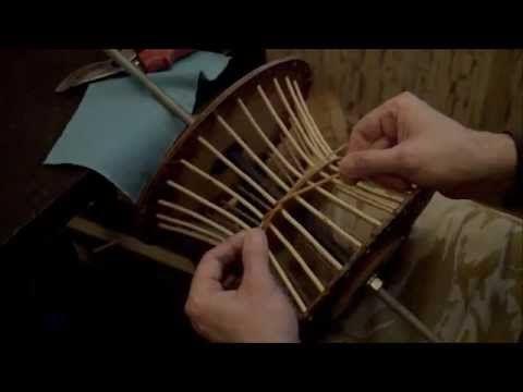 Плетение в шаблоне-Маленькие хитрости-Плетение из лозы-Wickerwork - YouTube