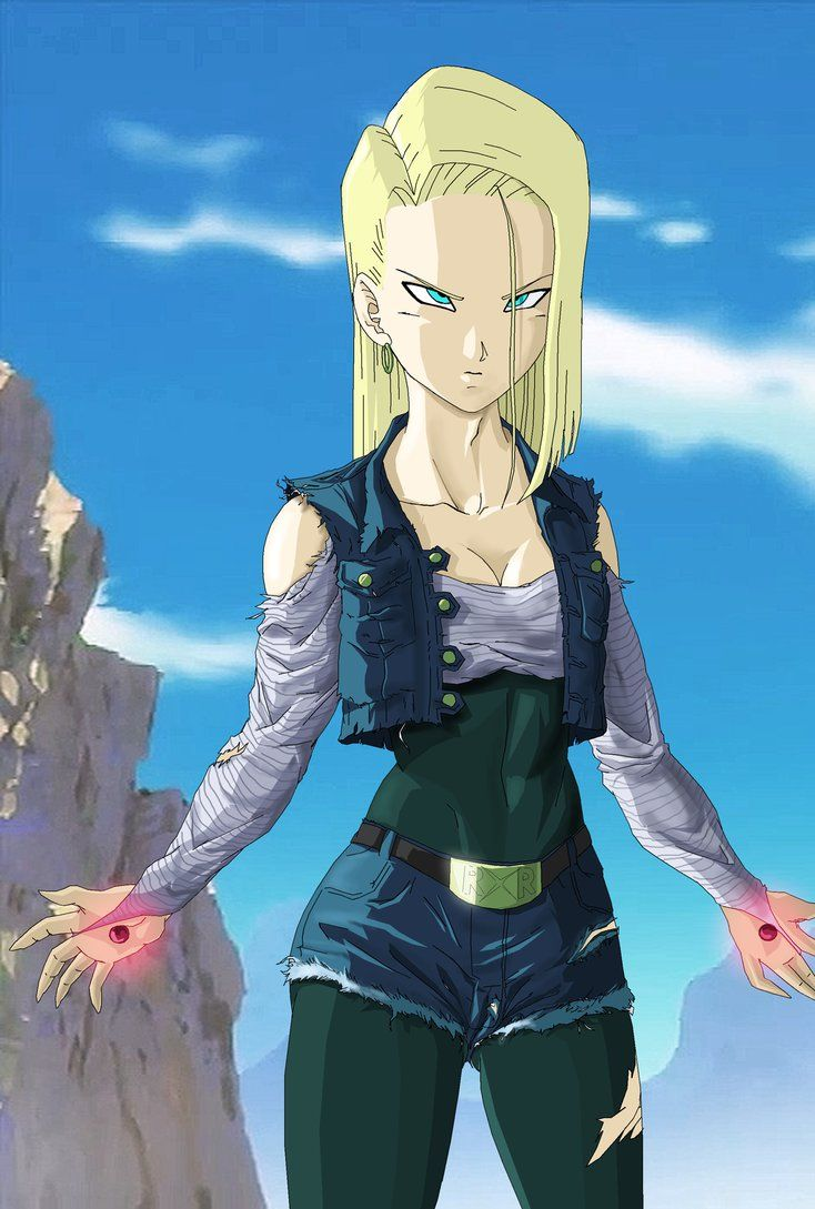 Super android 18 ready to fight by novasayajingoku 4th favorite anime girls pinterest - Dragon ball zc 18 ...
