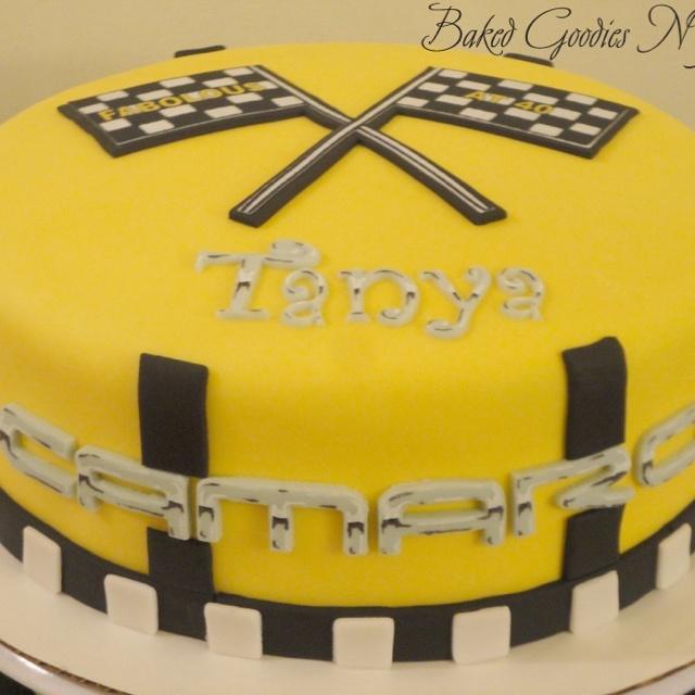 Camaro Cake Party Cakes Pinterest Cakes