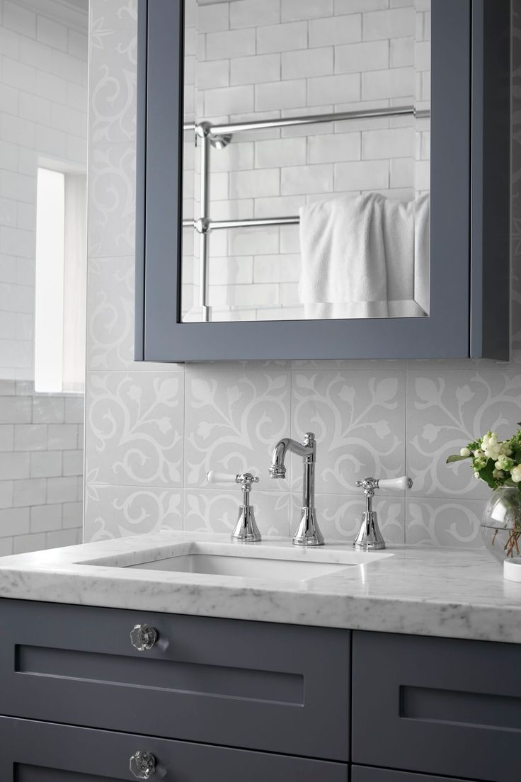 Hampton style ensuite in our Hampton home, Designed and bult by smarterBATHROOMS+