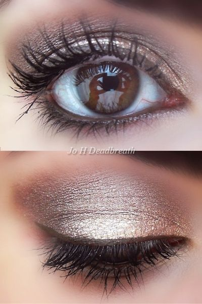 Achieve this look with Mary Kay Creme Eyeshadow in Beach Blonde for your highlight, Mineral Eyeshadow in Granite for your accent and Mineral Eyeshadow in Sienna for your base. Add Mary Kay Eyeliner in Deep Brown and finish off with Mary Kay Lash Love Mascara in I Love Black and Voila....gorgeous! Visit my website at www.marykay.com/kristalwoods or contact me right here on Pinterest :)