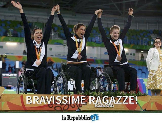#Paralimpiadi, #BebeVio ancora protagonista: bronzo nel fioretto a squadre