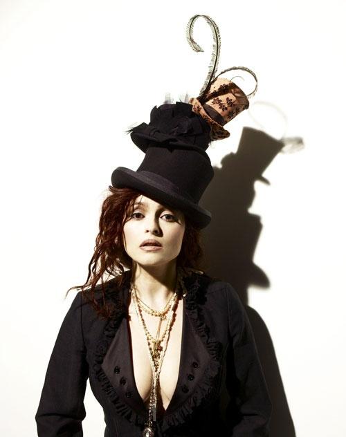 Helena Bonham Carter...love the hat