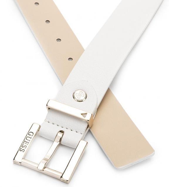 Белый ремень с металлической пряжкой BW6501-VIN35-WHI , купить в интернет-магазине. Цена: 4071