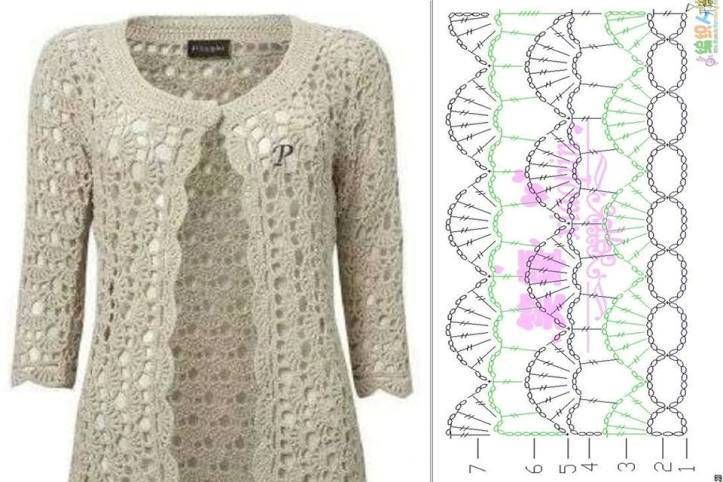 9 best chalecos tejidos images on Pinterest | Breien, Hand crafts ...