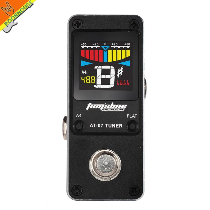 best price guitar pedal tuner bass tuner guitarra effects pedal tuner chromatic tuning model high #guitar #tuner