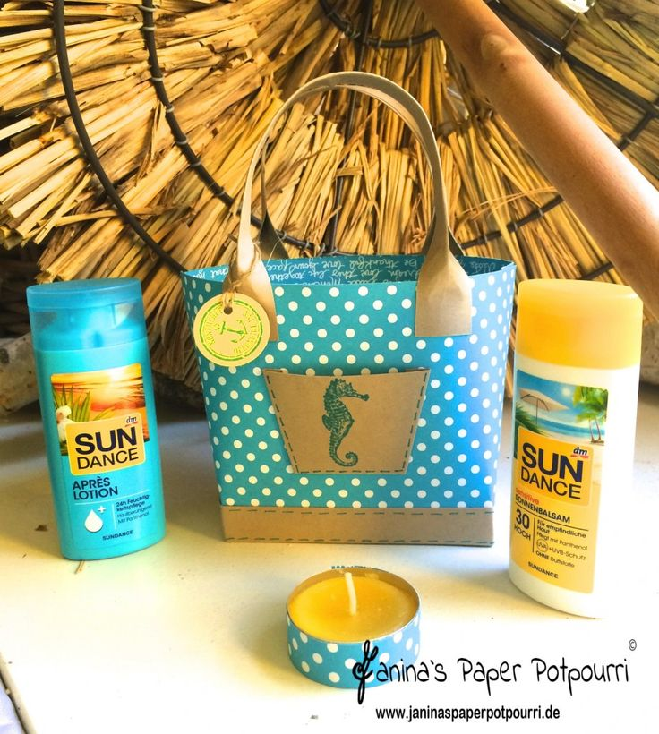 jpp - Beach Bag / Strandtasche / Stampin' Up! Berlin / Box in a bag / By the…