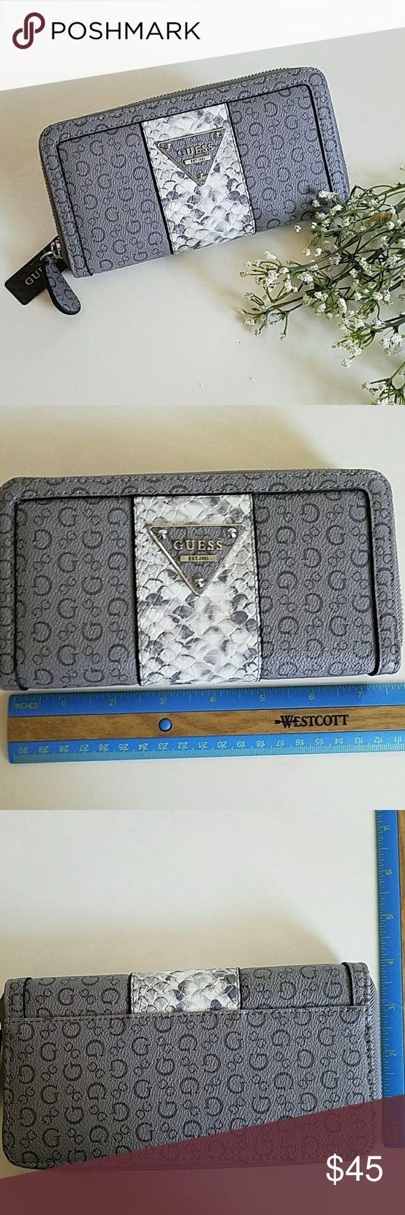 Guess Wallet Wunderschönes brandneues Modell mit 100% authentischem Guess Wallet. Leder. …