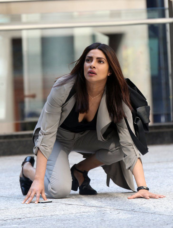 Pin for Later: Priyanka Chopra Swings Into Action on the Set of Quantico Season…