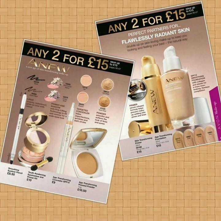 Anew make-up visit Avon.uk.com/store/shana-shop